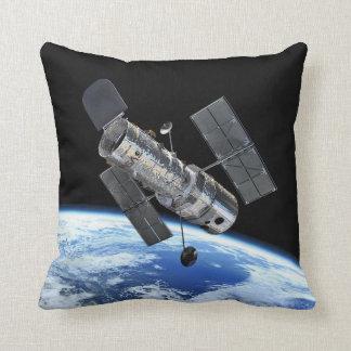 Hubble In Orbit Throw Pillow