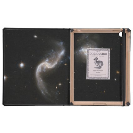 Hubble Interacting Galaxy Arp 256 Cover For iPad