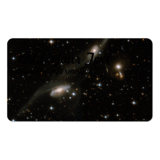 Hubble Interacting Galaxy ESO 69-6 Business Card Template