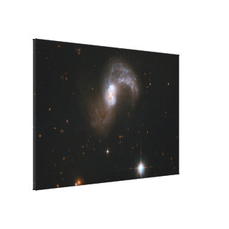 Hubble Interacting Galaxy IC 2545 Canvas Print