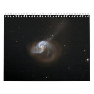 Hubble Interacting Galaxy NGC 1614 Wall Calendars
