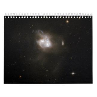 Hubble Interacting Galaxy NGC 5256 Calendars