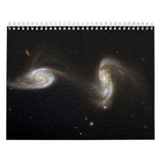 Hubble Interacting Galaxy NGC 5257 Wall Calendars
