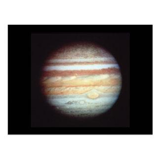 Hubble Jupiter Postcard
