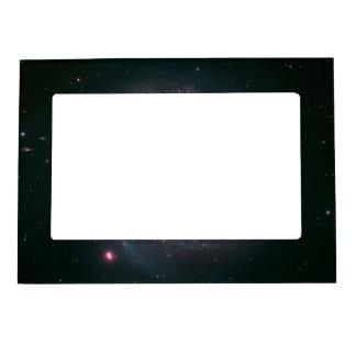 Hubble-Magellan Composite of M83 Frame Magnet