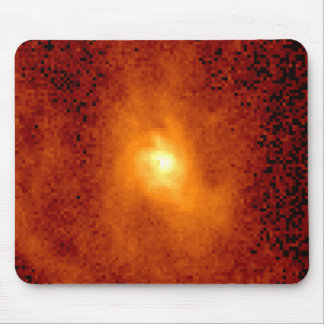 Hubble Measures Velocity of Gas Orbiting Mouse Pads