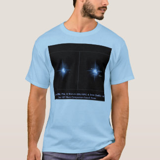 Hubble  / New moons discovered around Pluto T-Shirt
