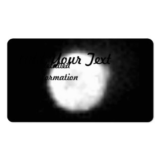 Hubble Observes Volcanic Io - Ultraviolet Light Double-Sided Standard Business Cards (Pack Of 100)