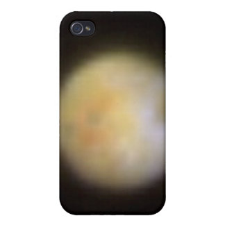 Hubble Observes Volcanic Io - Visible Light iPhone 4 Case
