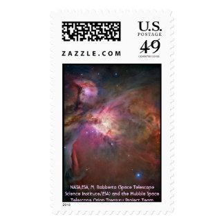 Hubble / Orion Nebula Postage Stamp