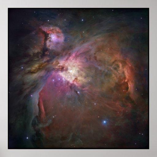 Hubble Orion Nebula Poster
