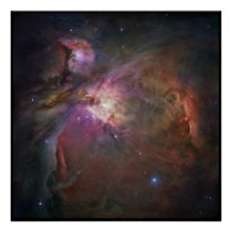 Hubble Orion Nebula Posters