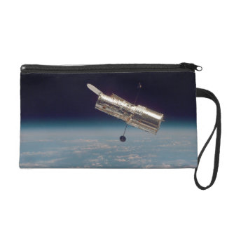 Hubble over Earth 3 Wristlet Clutch