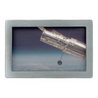 Hubble over Earth 3 Belt Buckle