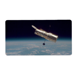 Hubble over Earth 3 Labels