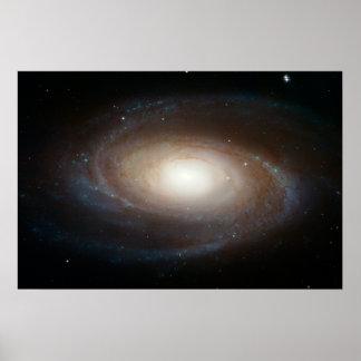 Hubble Photographs Grand Design Spiral Galaxy M81 Poster