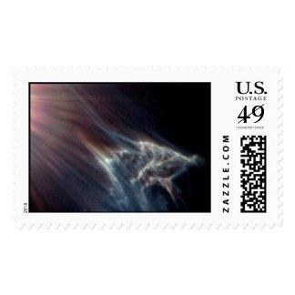 Hubble / Pleides star cluster starlight effect  Stamp