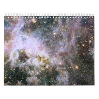 Hubble Probes Interior of Tarantula Nebula Wall Calendars