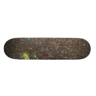 Hubble Resolves Swarms of Stars in Nearby Galaxy Custom Skateboard