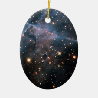 Hubble s Mystic Mountain - Deep Space Christmas Ornament