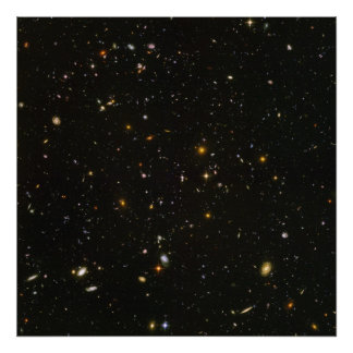 Hubble s Ultra Deep Field Image Poster