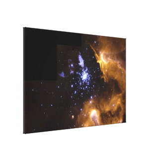 Hubble Snapshot Captures Life Cycle of Stars Canvas Print