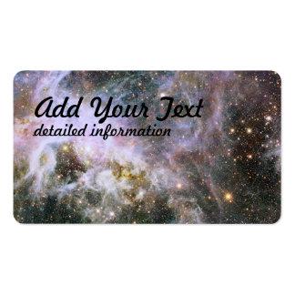 Hubble sonda el interior de la nebulosa del Tarant Plantilla De Tarjeta De Negocio