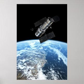 Hubble Space Telescope 20x30 (21x31) Poster