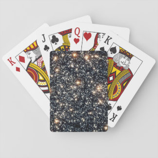Hubble Space Telescope (ACS) Image of 47 Tucanae Playing Cards
