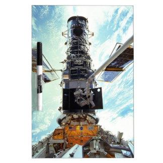 Hubble Space Telescope and astronauts Dry-Erase Board