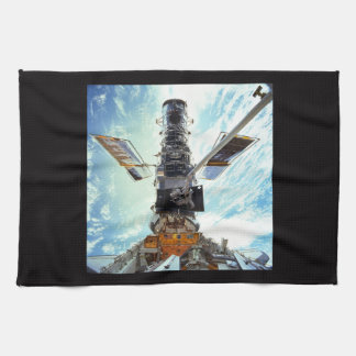 Hubble Space Telescope and astronauts Kitchen Towel