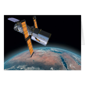 Hubble Space Telescope Astronomy Greeting Card