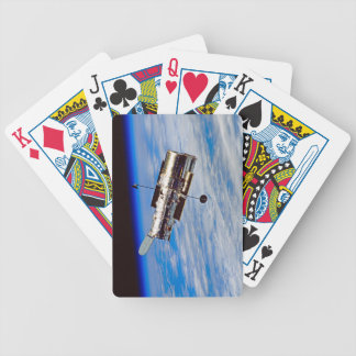 Hubble Space Telescope Bicycle Playing Cards