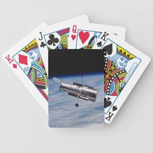 Hubble Space Telescope Bicycle Poker Deck