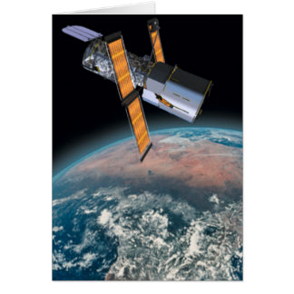 Hubble Space Telescope Greeting Card Science gift