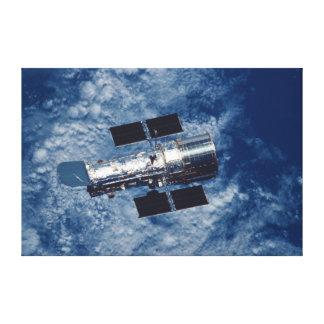 Hubble Space Telescope HST Canvas Print