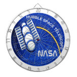 Hubble Space Telescope (HST) Dartboard With Darts