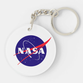 Hubble Space Telescope(HST) Double-Sided Round Acrylic Keychain