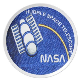 Hubble Space Telescope(HST) Melamine Plate