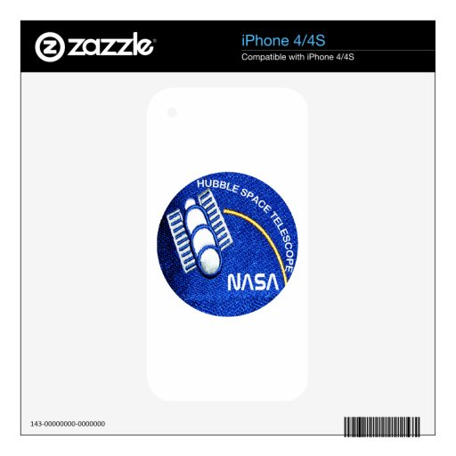 Hubble Space Telescope(HST) Decals For iPhone 4