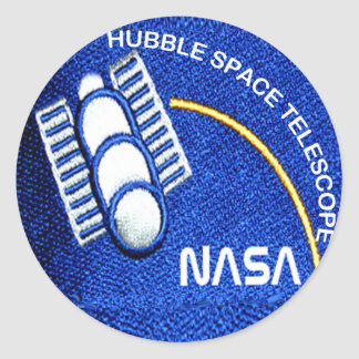 Hubble Space Telescope (HST) Classic Round Sticker