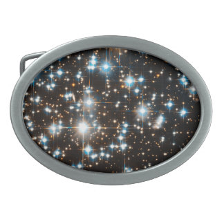 Hubble Space Telescope Image of Globular Cluster Oval Belt Buckles