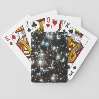 Hubble Space Telescope Image of Globular Cluster Playing Cards