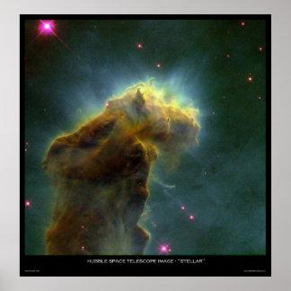 "Hubble Space Telescope Image ""Stellar"" Poster"