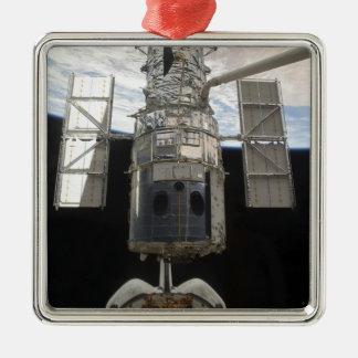 Hubble Space Telescope in Atlantis cargo bay Metal Ornament