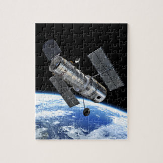 Hubble Space Telescope In Earth Orbit NASA Photo Jigsaw Puzzle