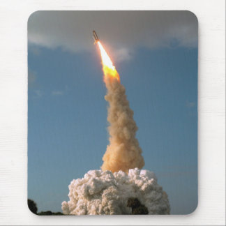 Hubble Space Telescope lift off launch Mouse Pad