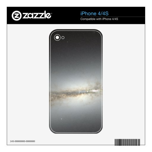 Hubble Space Telescope of NGC 4710 iPhone 4S Decal