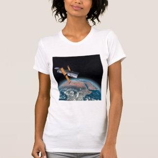 Hubble Space Telescope Petite Astronomy T-shirt