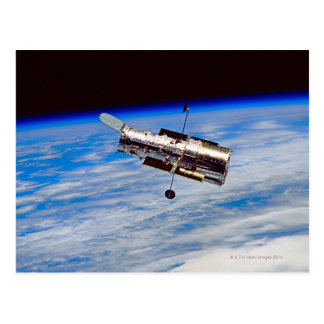 Hubble Space Telescope Postcard